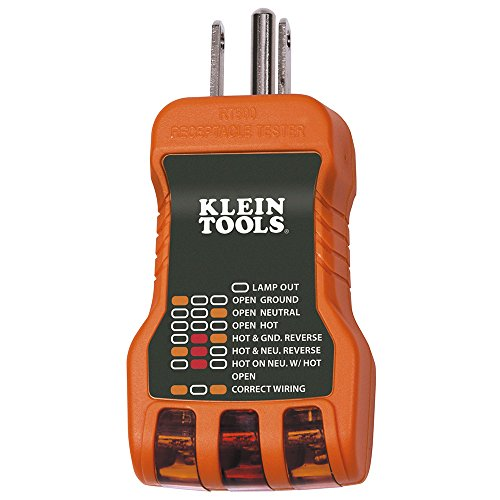 (Klein Tools RT500 USA Receptacle Tester)