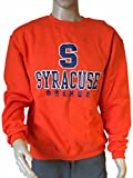 champion mens eco crewneck fleece - Syracuse Orange Champion Eco Fleece Orange LS Crew Neck Pullover Sweatshirt (L)