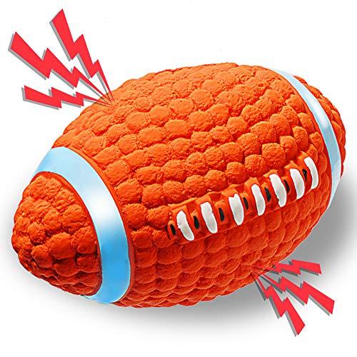 ACE2ACE Hundespielzeug Ball, Hundebälle Mit Quietschendes, Interaktives Wurfspielzeug aus Sicherheit Naturkautschuk, Für…
