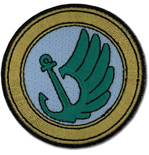 Toaru Hikoushi Patch New Base Badge Bügelbild Geschenke Anime Lizenzprodukt ge44790
