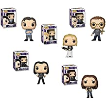 Funko Pop! Television Buffy the Vampire 20th Anniversary Set of 5 - Buffy, Xander, Giles, Faith and Dark Willow