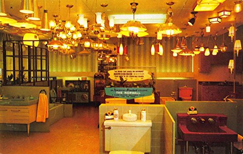 Postcard Interior Noland Company Store in Macon, - Stores Macon