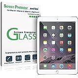 New iPad 9.7 Inch / iPad Pro 9.7 Inch / iPad Air / iPad Air 2 Screen Protector Glass, amFilm Glass Screen Protector for Apple iPad Air 2, iPad Air, iPad Pro 9.7 inch, 5th Gen 2016 2017 (1-Pack)
