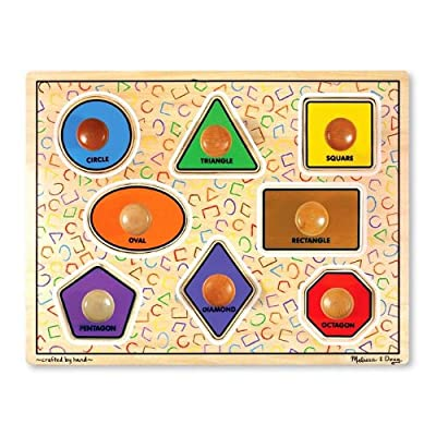 Melissa & Doug Large Shapes Jumbo Puzzle by Melissa And Doug
