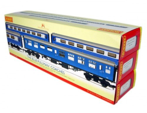Hornby OO Gauge R4310 BR 'The Blue Pullman' 3 Coach Pack