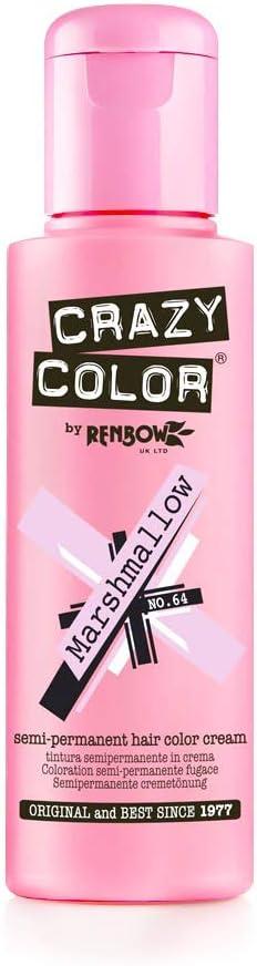 Crazy Color Marshmallow Nº 64 Crema Colorante del Cabello Semi-permanente