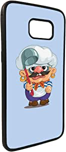 Printed Case for Galaxy S7, Cartoons - Cooker