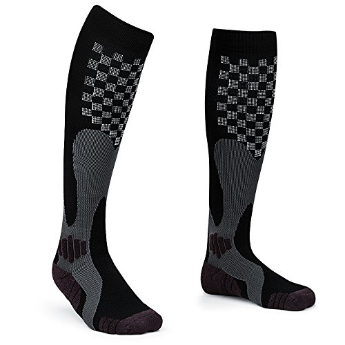 Tosue Sport Compression Socks for Men Women 20-30 mmHg, Maternity Pregnancy Recovery Stocking