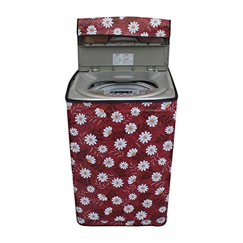 Stylista Washing Machine Cover for Whirlpool Fully Automatic Top Load Whitemagic Royale 6.5Kg Printed Pattern