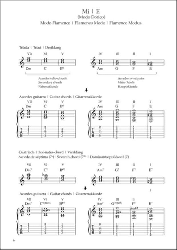 Flamenco Guitar Technics Vol.3 – acordes, cadenzias: Graf-Martinez ...