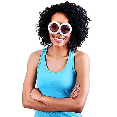 Costume Sunglasses Minion Goggles Sun-Staches Party Favors UV400: Toys & Games