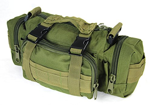 WeGo Outdoor Military-Style Tactical Belt Waist Pack Molle Bag - Army Green