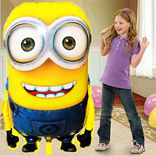 Turner 92 x 65cm Big Size Minions Balloons Ball Classic Toys Christmas Birthday Wedding Decoration Party Inflatable air Balloon -