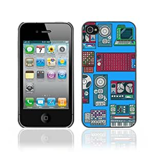 Designer Depo Hard Protection Case for Apple iPhone 4 4S / Cool Retro Devices