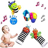 Galsang Baby Wrist Rattles Foot Finders