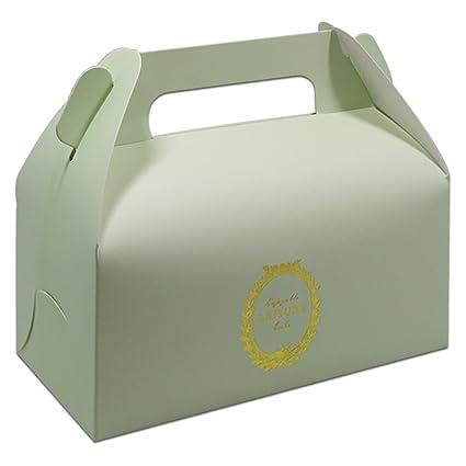 Amazon Com 16 5x9x8cm 15 Pcs Portable Paper Box For Cake