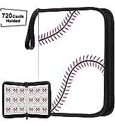720 Pockets Baseball Card Binder for Baseball Trading Cards, Display Case with Baseball Card Slee...