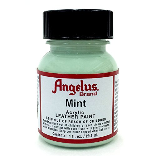 Angelus 1 oz Acrylic Leather Paint (Mint)