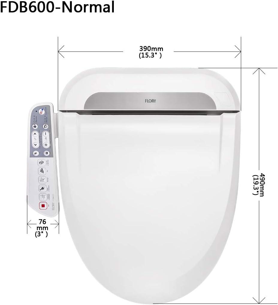 Flory UE bid/é asiento para inodoro modelo FDB600