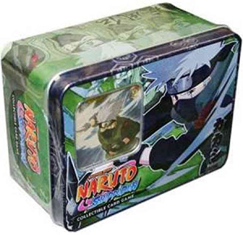 (Naruto Shippuden Card Game Unbound Power Collector Tin Set Kakashi Hatake)