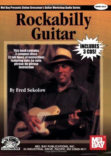 (Rockabilly Guitar book/ 3 - CD set)