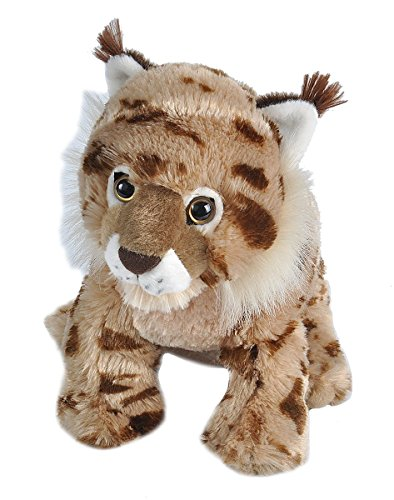 Wild Republic Lynx Baby Plush, Stuffed Animal, Plush Toy, Gifts for Kids, Cuddlekins, 8 inches