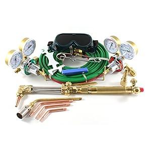 SÜA Wyvern Gas Welding & Cutting Kit Oxygen Torch Acetylene Welder Outfit