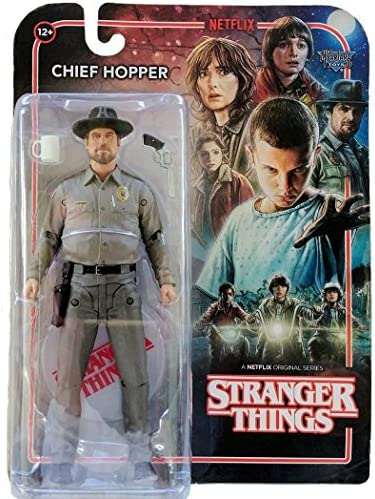 14cm Funko Serie complete de 6 figurines Stranger Things
