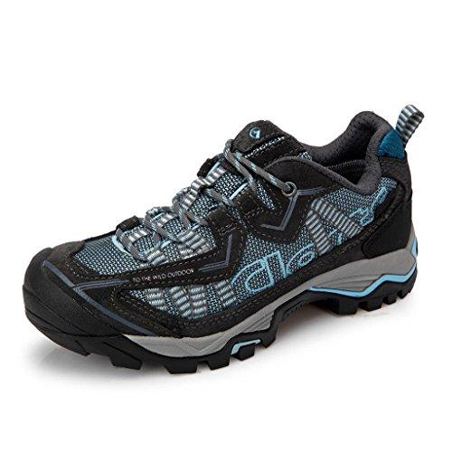 Clorts Women's Suede Waterproof Hiking Shoe Outdoor Backpacking Trekking Shoe 3D026B