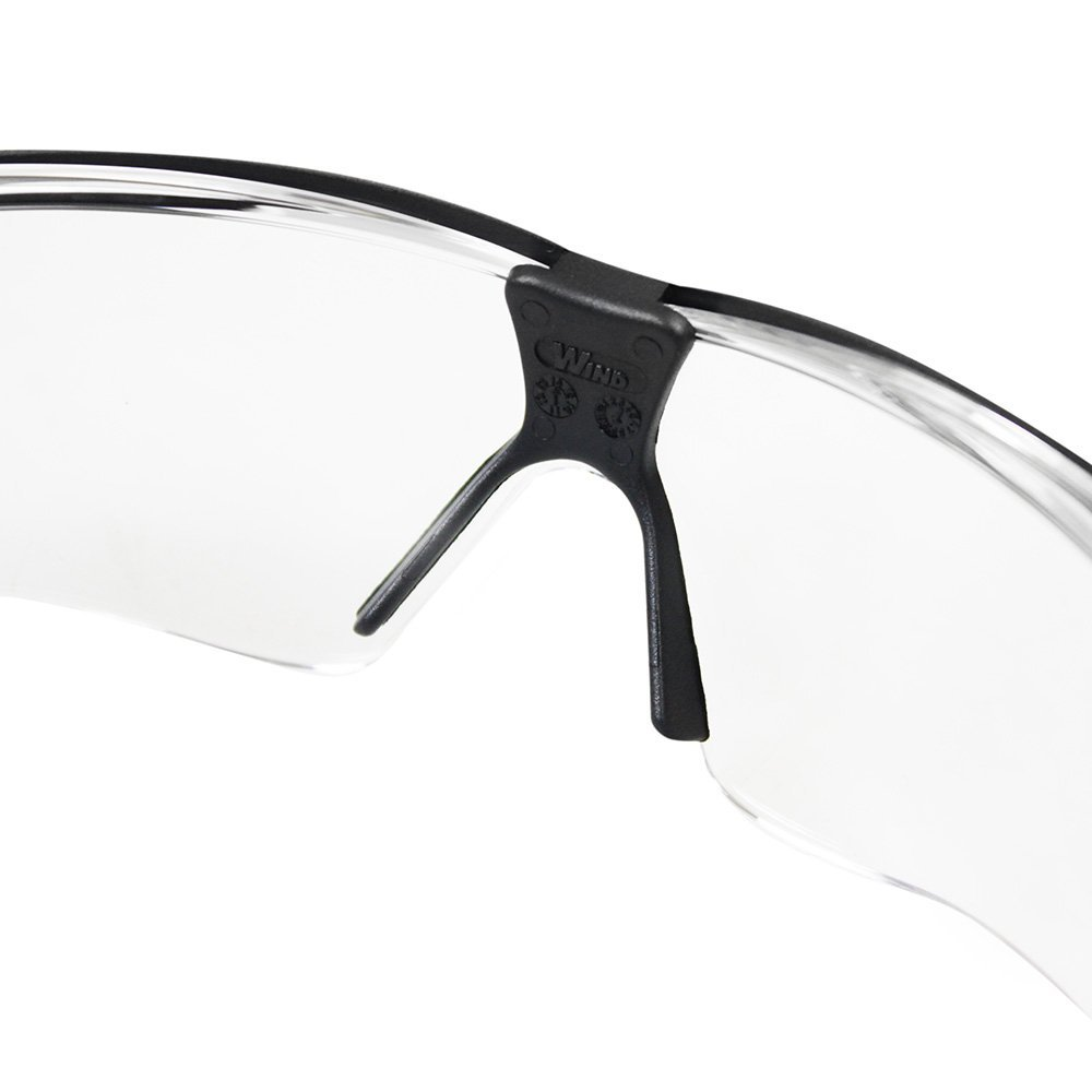 bc498d2731372 Óculos de Segurança Wind com Lente Incolor Anti Embacante-CARBOGRAFITE-012544412   Amazon.com.br  Ferramentas e Construção
