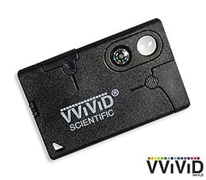 VViViD Black Credit Card Survivalist Compact Emergency Multi-Tool Kit