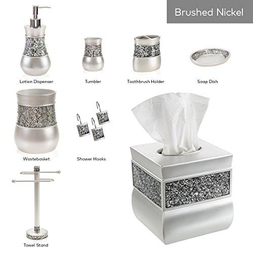 Creative scents square tissue box cover decorative tissue for Bathroom accessories uae
