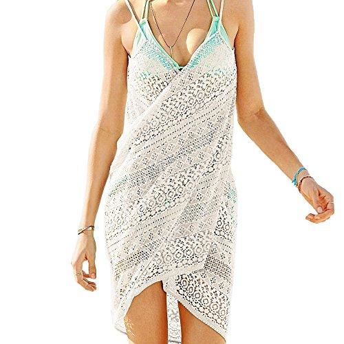 Pop Fashion Womens Summer Beachwear Swimsuit Cover Up Resort Swimwear (Beachwear Wrap)