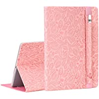 Select SHANSHUI iPad Pro 9.7 Smart Stand Protective Folio Case Cover with Pencil Holder (Multiple Color)