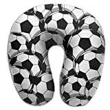 Gkf U Shaped Pillow Neck Soccer Travel Multifunctional Pillow Car Airplane