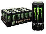 Monster Energy Drink, Green, Original, 16 Ounce