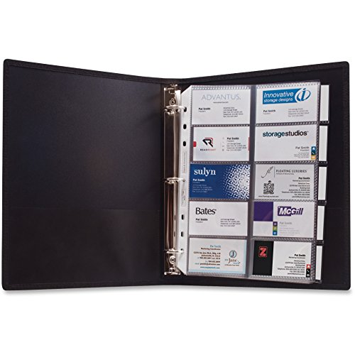 Anglers 3-Ring Business Card Binder - 1000 Capacity - 11