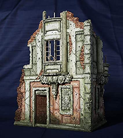 1:35 European Street Ruins High Quality Resin Figure Kit
