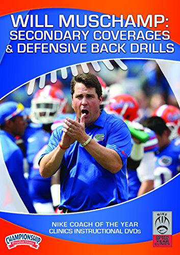 (Will Muschamp: Secondary Coverages & Defensive Back)