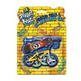 Die Cast Toy Set Finger Bike & Board Skateboard Skate Die-cast Accessories Set