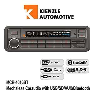 Axion radio del coche MCR 1014 (SD/USB/MP3)