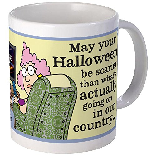 CafePress Aunty Acid: Halloween In Our Country Mug Unique Coffee Mug, Coffee Cup