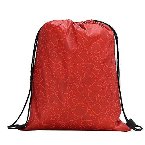 Bandolera Familizo Mano Valentín F Cuerda Bolsa Compras Día Con Almacenamiento Bolsos Cordón Mujer Mochila San Paquete De fZxq6CfHrw