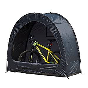Amazon.com : Outsunny Outdoor Portable Garage Shed Bicycle