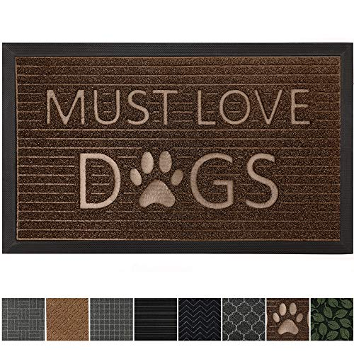 GRIP MASTER Durable All-Natural Rubber Doormats