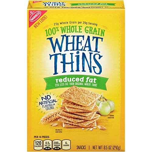 Wheat Thins Crackers (Reduced Fat, 8.5-Ounce Box), used for sale  Delivered anywhere in USA