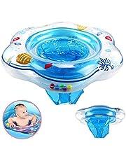 DAYPICKER Schwimmring mit Schwimmsitz, Baby Schwimmring mit PVC für Kleinkind