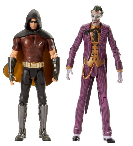 Batman Legacy Arkham City Robin And The Joker Collector Figure -
