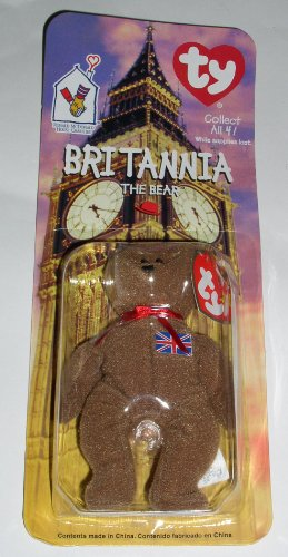 Ronald House Mcdonalds Mcdonald (Ty Tiny Beanie - Ronald McDonald House Charities - Britannia The Bear)