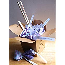 Personalized Paper Origami Fortune Cookies